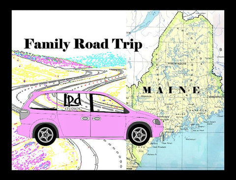 LPDstudios Blog- Family Road Trip