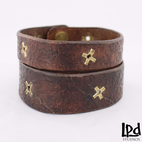LPDstudios Blog: Behind the Scenes - Couples Leather Love Wristlets