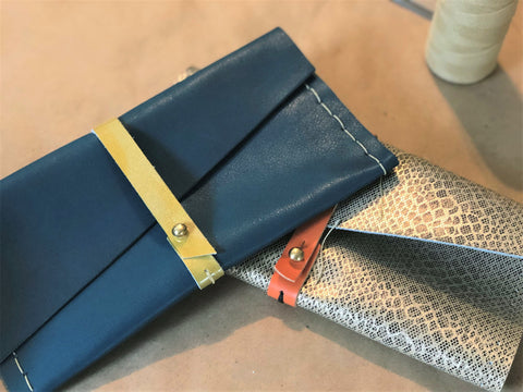 Leather Clutch Workshop