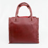 Purse Red Porcupine Small Square Tote