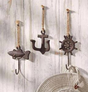 Nautical Wall Hook Set