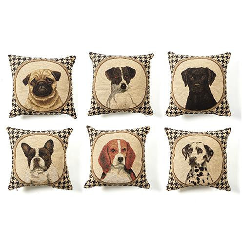 Houndstooth Dog Pillows - $24.95 each
