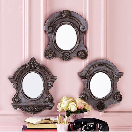 Baroque Wall Mirror Trio