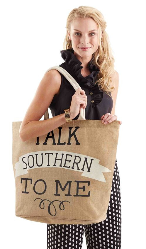 Talk Southern To Me Tote