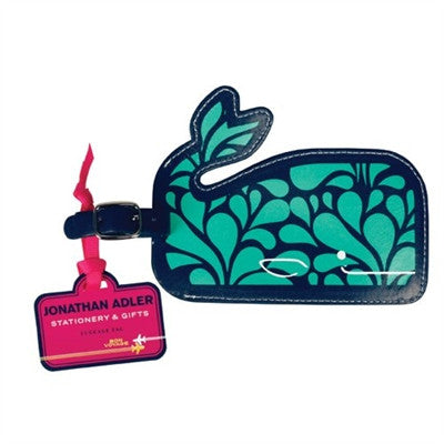 Whale Luggage Tags by Jonathan Adler