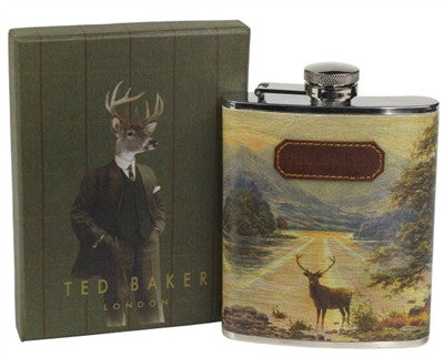 Stag Flask by Ted Baker