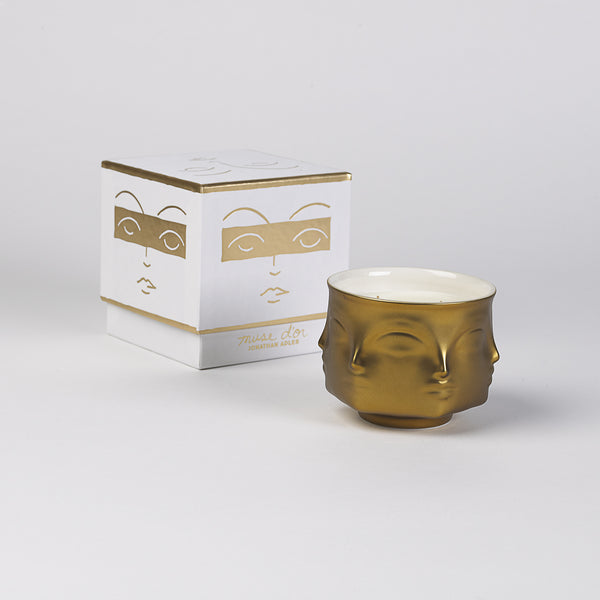 Muse D'Or Ceramic Candle by Jonathan Adler