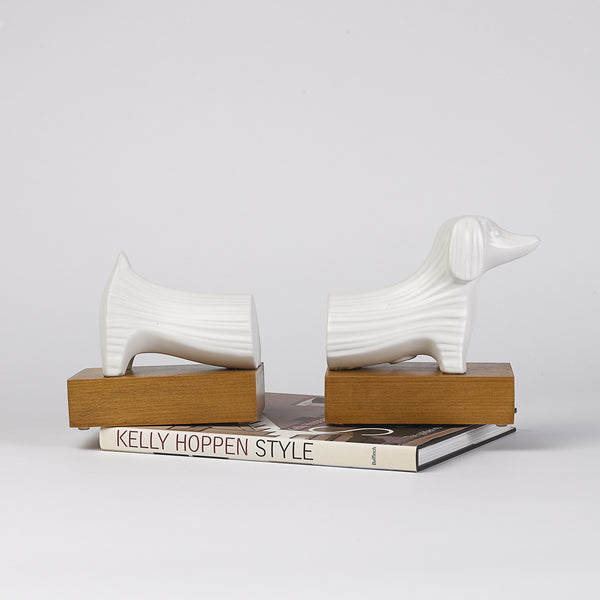 Dachshund Bookends by Jonathan Adler