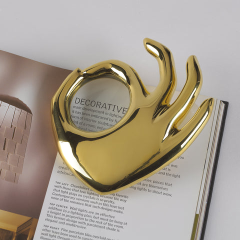 OK Magnifying Glass by Jonathan Adler
