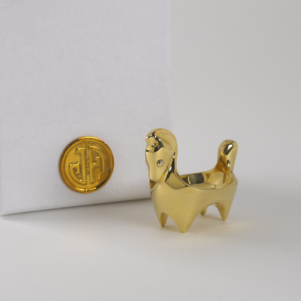 Horse Ring Bowl by Jonathan Adler
