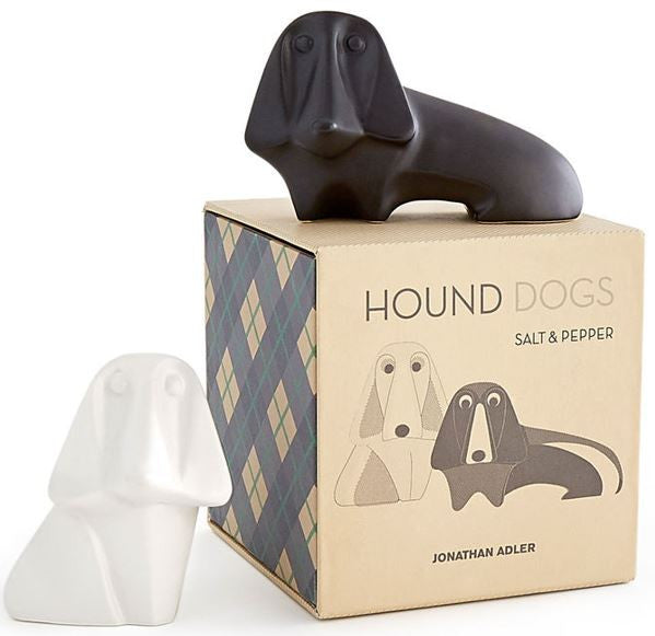 Hound Dogs Salt & Pepper by Jonathan Adler