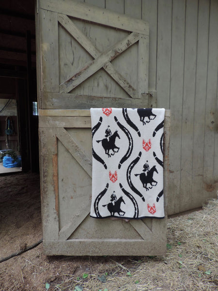 Equestrian Hunt Throw