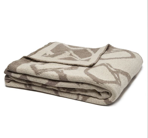 Equestrian Reversible Bits Throw by in2green