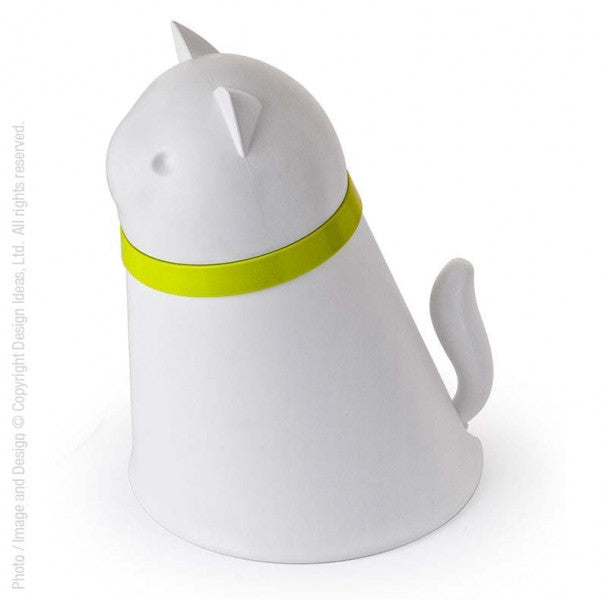Kitty Pet Feeder in White