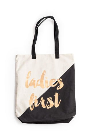 Ladies First Tote Bag
