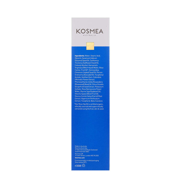 Kosmea Purifying Cream Cleanser 150ml Packaging Rear View
