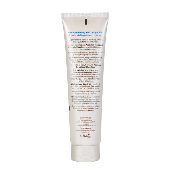 Kosmea Purifying Cream Cleanser 150ml Rear View