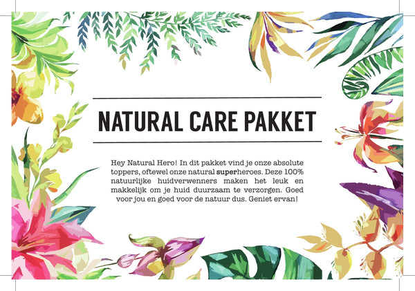 Natural Care Pakket - Natural Heroes