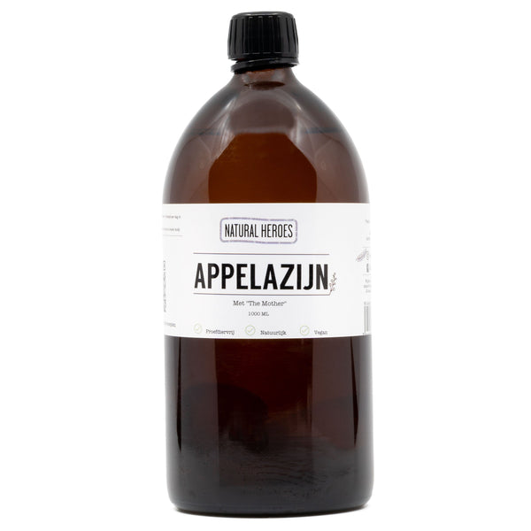 Apple Cider Vinegar (Appelazijn) - Met ''The Mother'' Natural Heroes 1000 ml