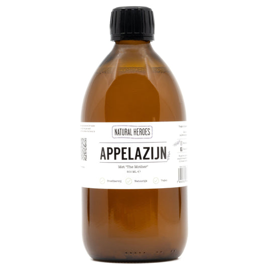Apple Cider Vinegar (Appelazijn) - Met ''The Mother'' Natural Heroes