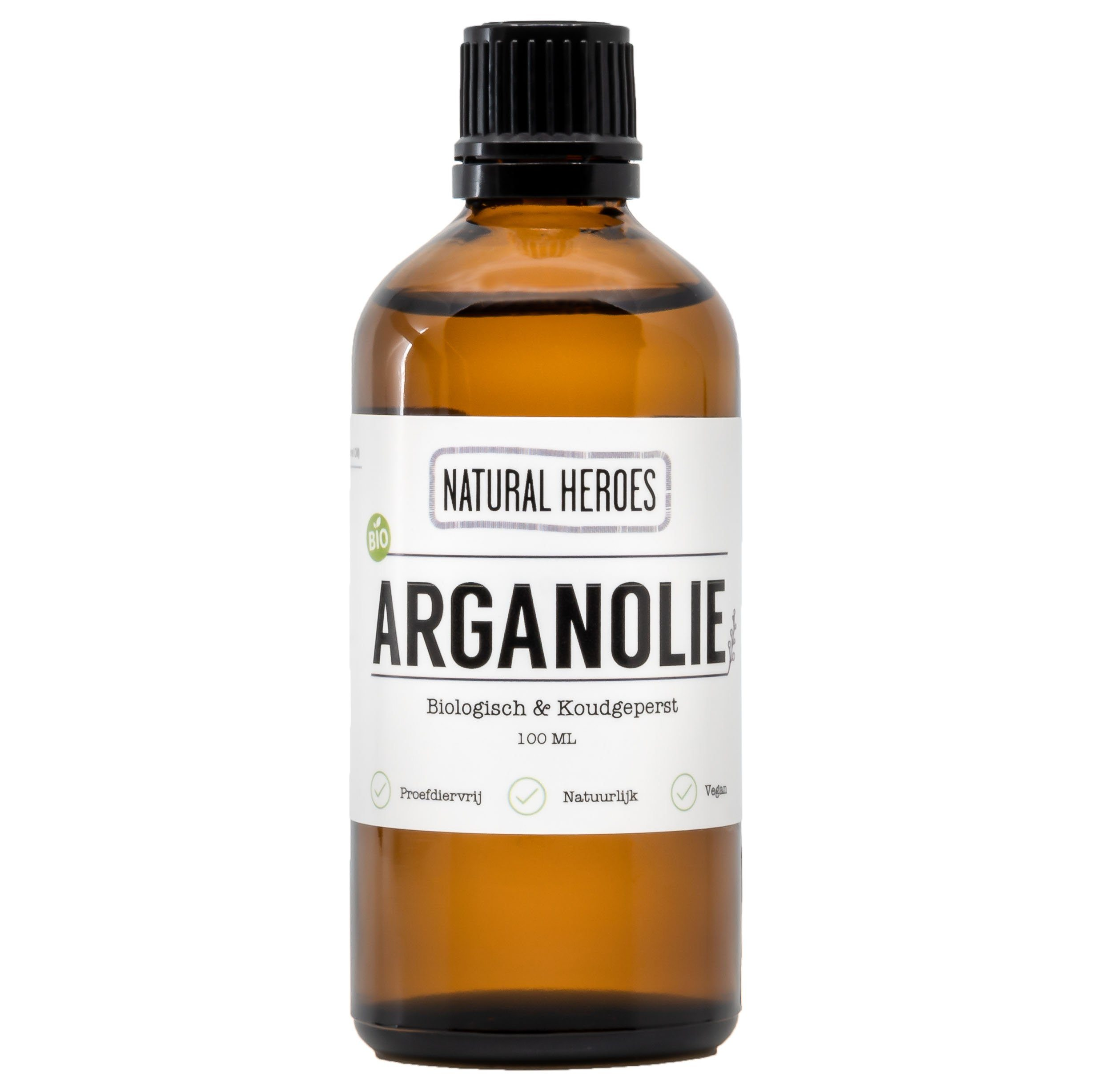 Argan Olie (Biologisch & Koudgeperst) Natural Heroes 100 ml