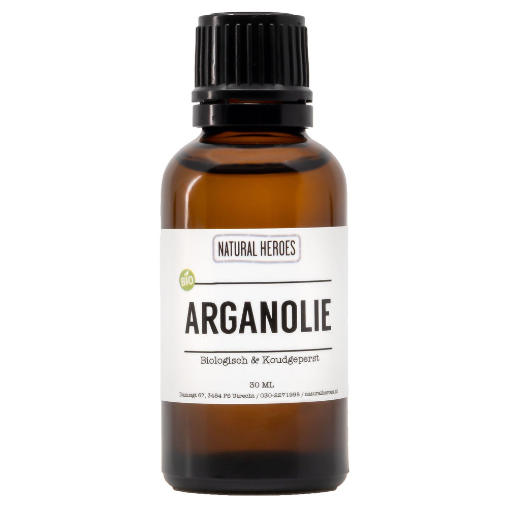 Argan Olie (Biologisch & Koudgeperst) Natural Heroes 30 ml