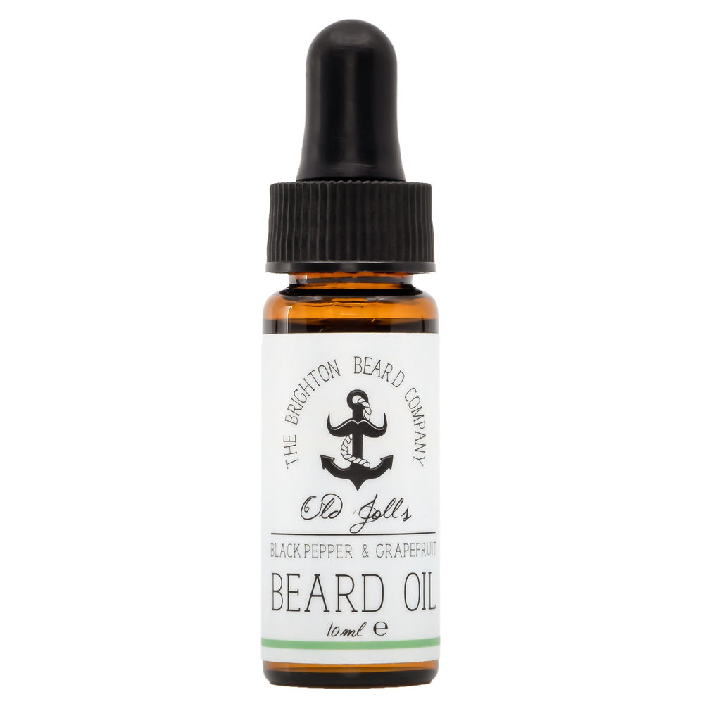 Baardolie (Zwarte Peper & Grapefruit) - The Brighton Beard Company The Brighton Beard Company 10 ml