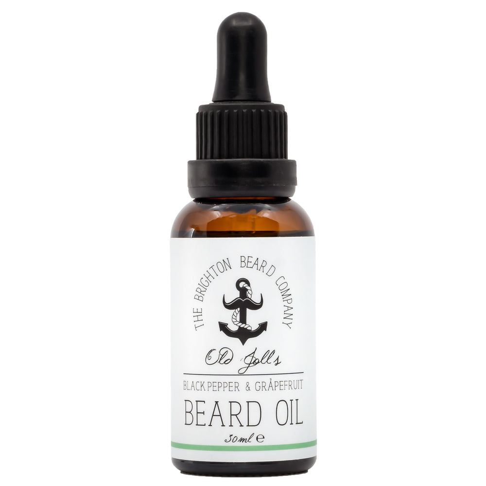 Baardolie (Zwarte Peper & Grapefruit) - The Brighton Beard Company The Brighton Beard Company 30 ml