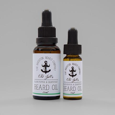 Baardolie (Zwarte Peper & Grapefruit) - The Brighton Beard Company The Brighton Beard Company