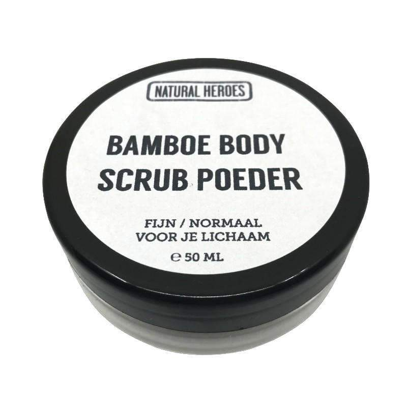 Bamboe BODY Scrub Poeder (50 ml) Natural Heroes