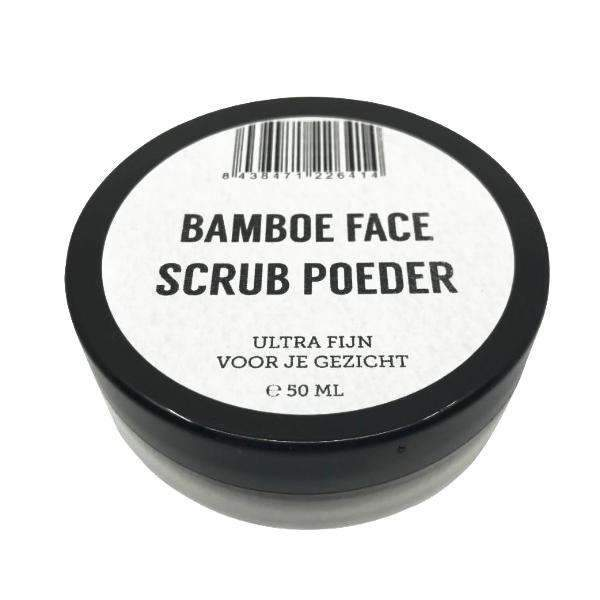 Bamboe FACE Scrub Poeder (50 ml) Natural Heroes