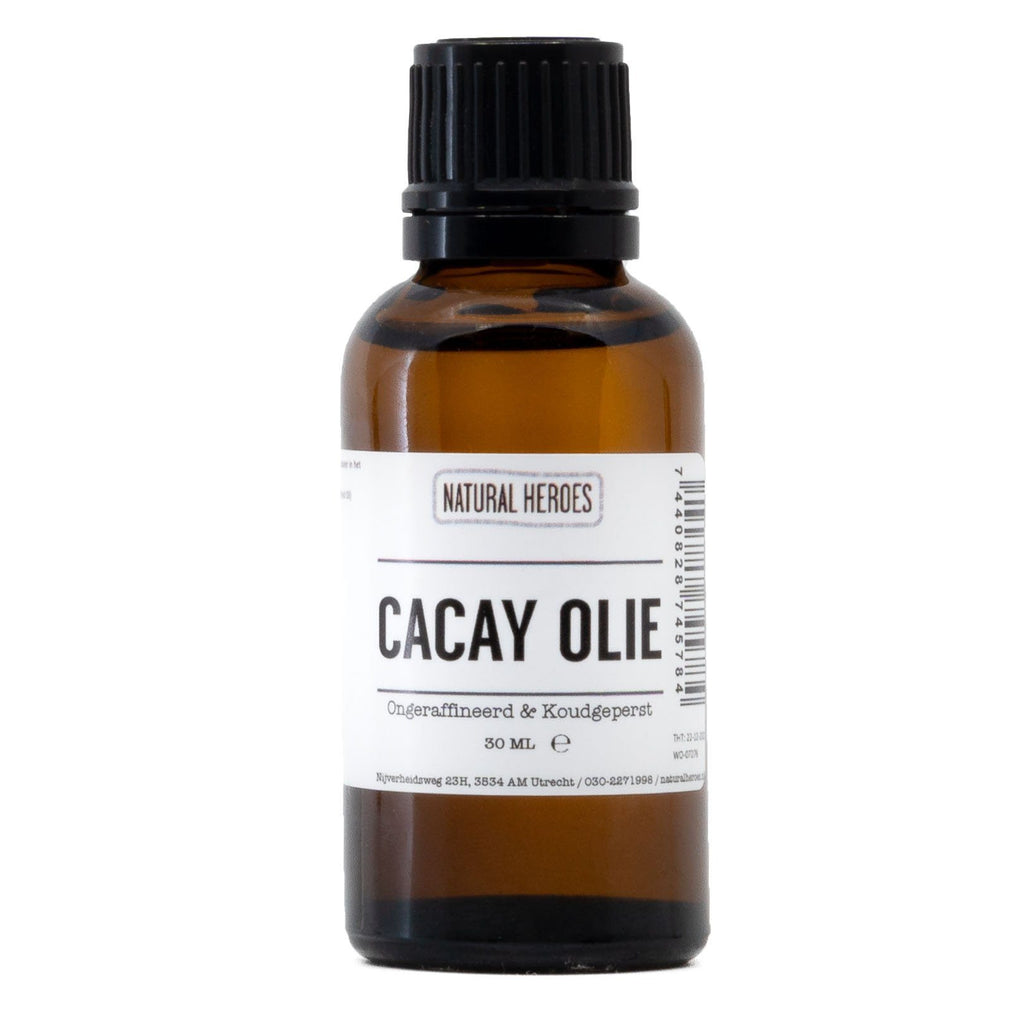Cacay Olie (Ongeraffineerd & Koudgeperst) Natural Heroes 30 ml