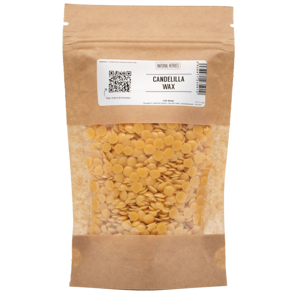 Candelilla Wax Natural Heroes 100 gram