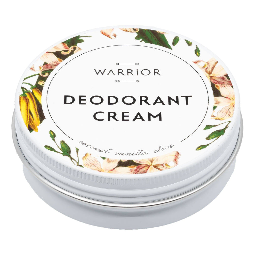 Deodorant Crème (Kokos, Vanille & Kruidnagel) - Warrior Botanicals warrior botanicals