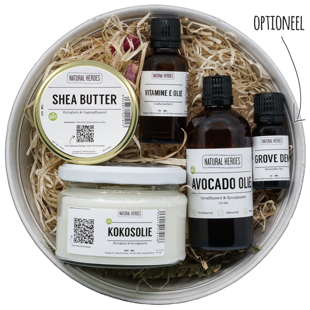 DIY Voedende Shea Body Crème Natural Heroes