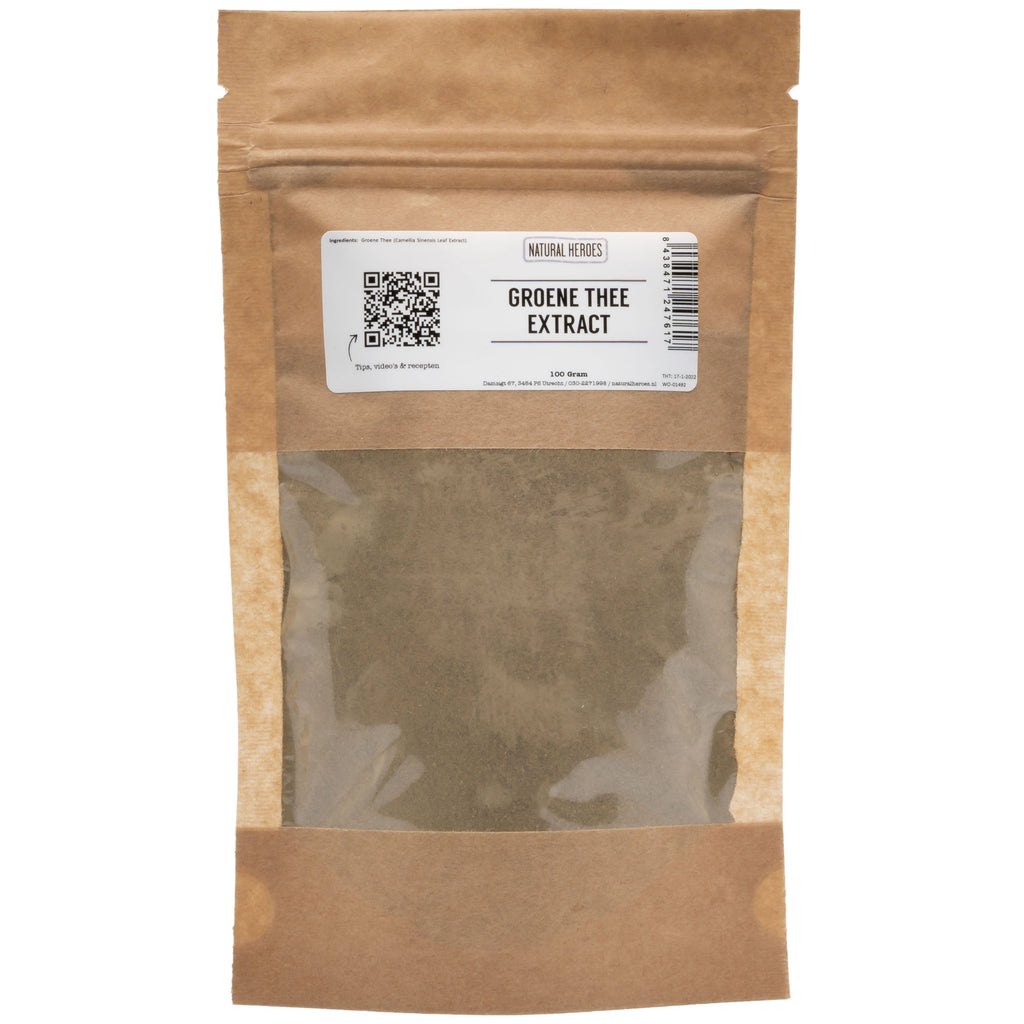 Groene Thee Extract Natural Heroes 100 gram