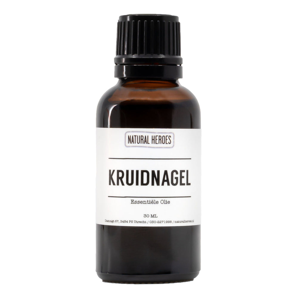 Kruidnagel Essentiële Olie Natural Heroes 30 ml
