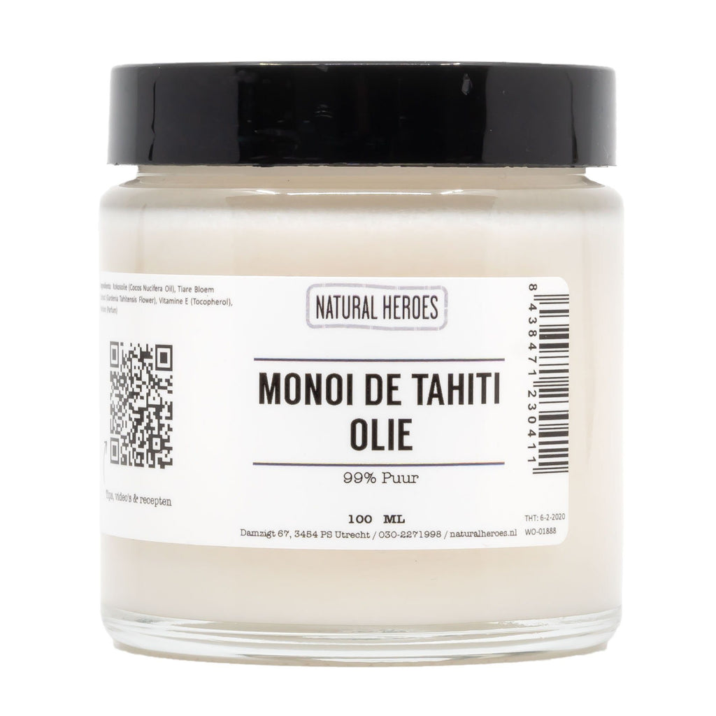Monoï de Tahiti Olie (99% puur) Natural Heroes 100ml pot