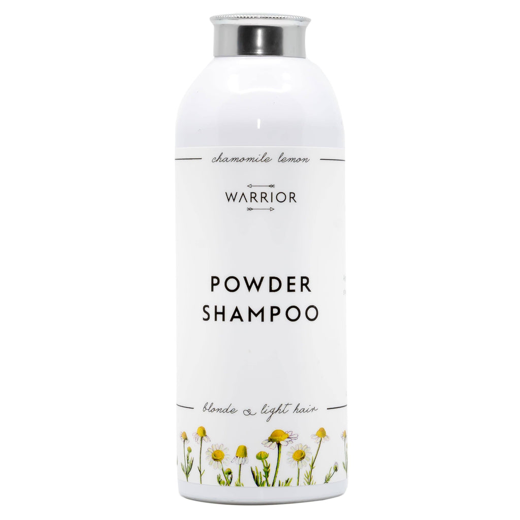 Poeder Shampoo (Kamille & Citroen) - Warrior Botanicals warrior botanicals