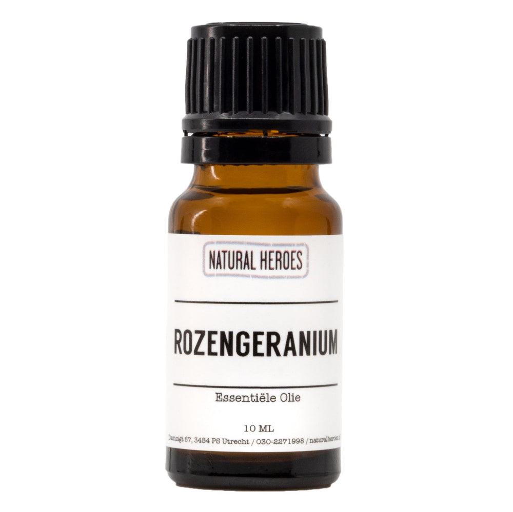 Rozengeranium Essentiële Olie Natural Heroes 10 ml