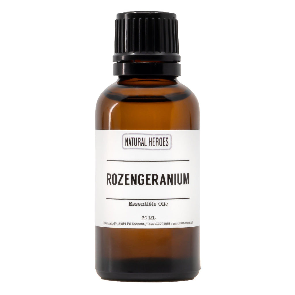 Rozengeranium Essentiële Olie Natural Heroes 30 ml