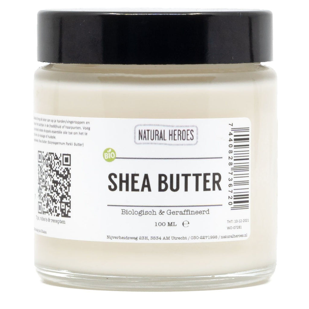 Shea Butter (Biologisch & Geraffineerd) Natural Heroes 100 ml