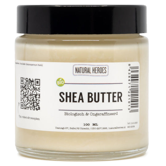 Shea Butter (Biologisch & Ongeraffineerd) Natural Heroes 100 ml