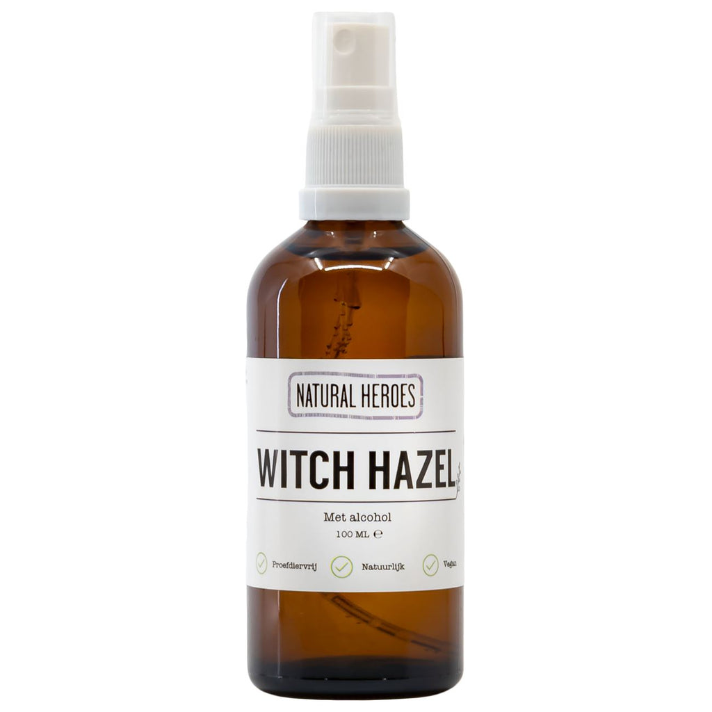Witch Hazel (op Alcohol Basis) Natural Heroes 100 ml