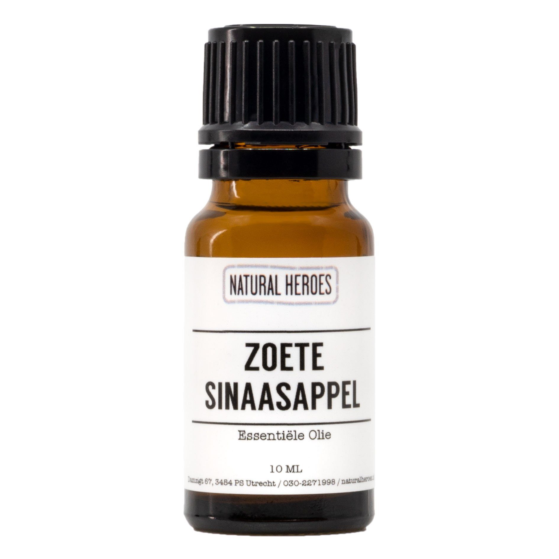Zoete Sinaasappel Essentiële Olie Natural Heroes 10 ml
