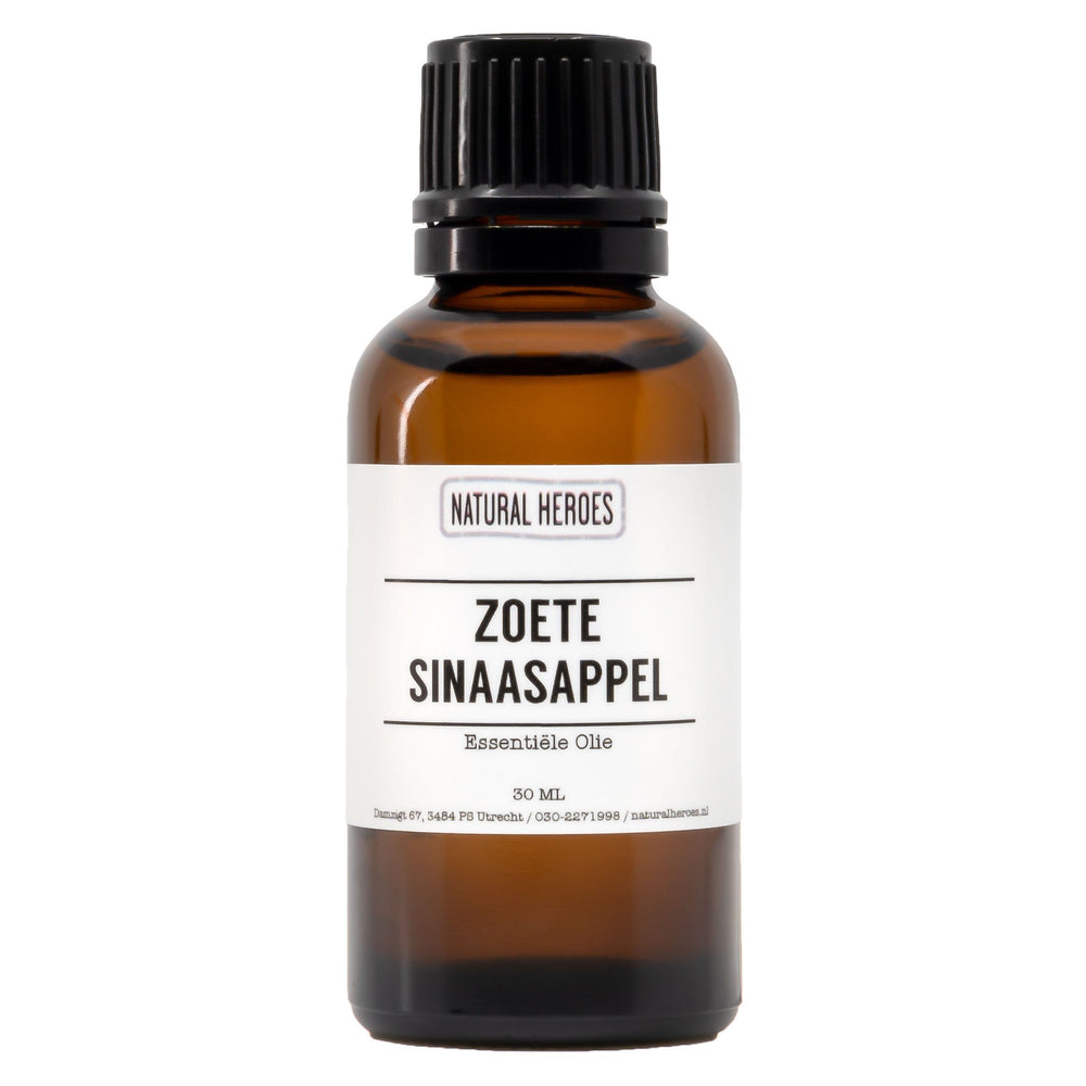 Zoete Sinaasappel Essentiële Olie Natural Heroes 30 ml