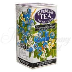Mlesna Blueberry Tea 30 bags individually foil wrapped