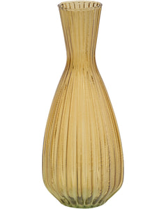Libra Amber Tapered Vase