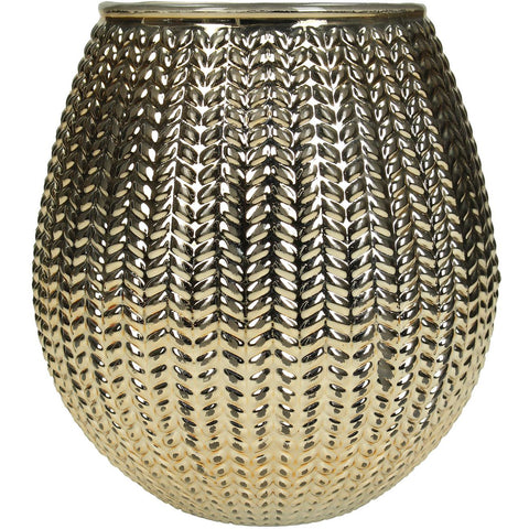 Textured Gold Small Lantern