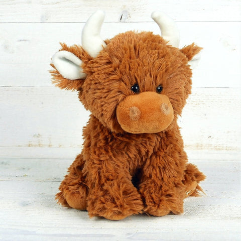 Highland Coo Toy